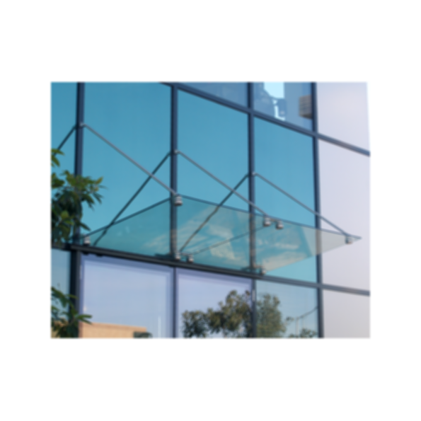 CRL Glass Awning Support System