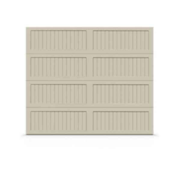 Family Safe Hand-Forged Look Steel Garage Door- Premium