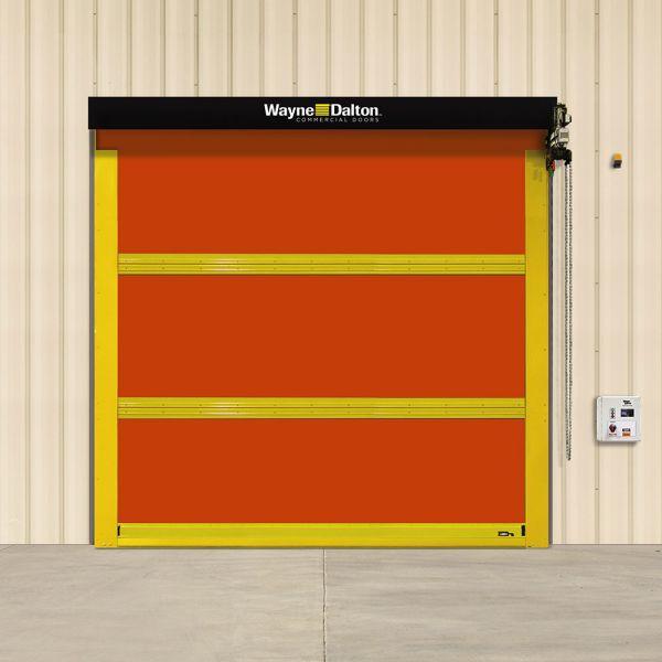 Exterior Heavy-Duty High Speed Fabric Door- Model 884 ADV