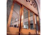 Brass Clad Doors