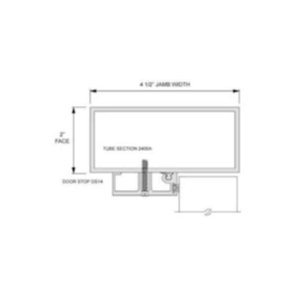 Tubular Aluminum Frames - 2400 Series