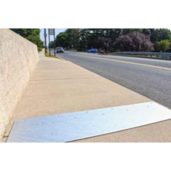 Slip-Resistant Metal Floor Plates
