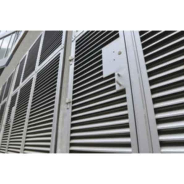Louvered Door Panel & Frame Assemblies
