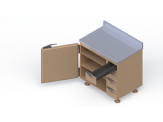 Decay and Storage Cabinets - Model MS-DSC