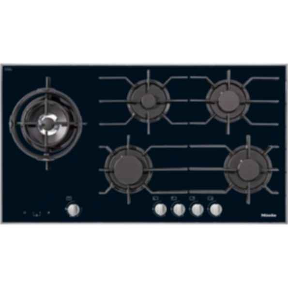 "KM 3054 36"" LP on Glass - 5 burners"