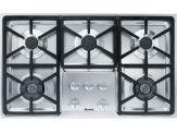 """KM 3474LP Knob control 36"""" gas cooktop - 5 burners - SS, Hexa grates"""