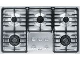 "KM 3475G Knob control 36"" gas cooktop - 5 burners - linear grates"