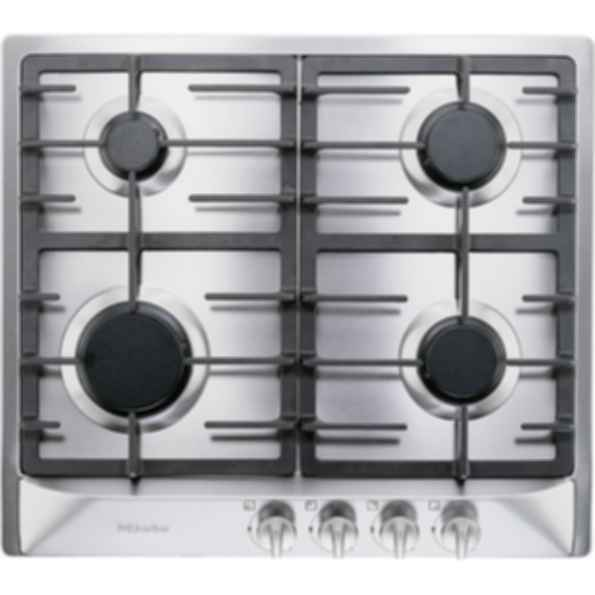 "KM 360G Knob control 24""/60cm* gas cooktop - 4 burners - SS"