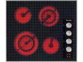 """KM5621 Knob control 24"""" electric cooktop - 4 zones - 208 Volts"""