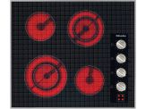"""KM5621 Knob control 24"""" electric cooktop - 4 zones - 240 Volts"""