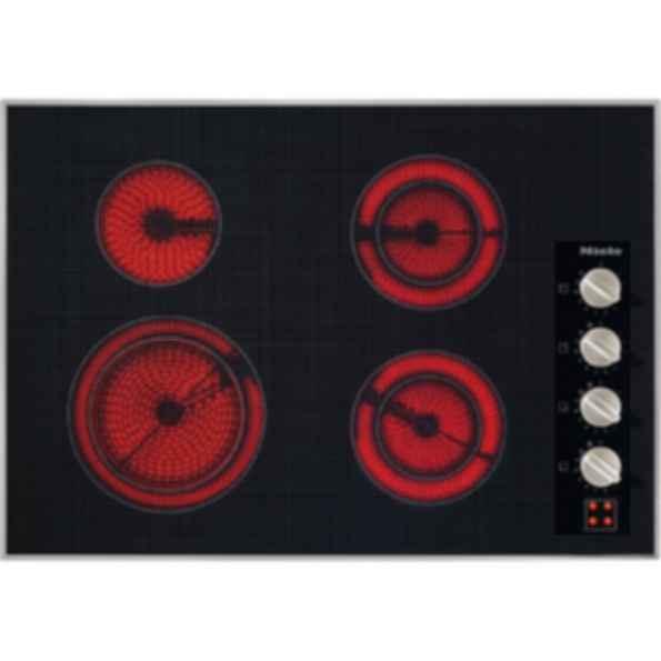 """KM5624 Knob control 30"""" electric cooktop - 7 zones - 240 Volts"""