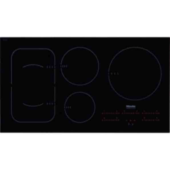 "KM6375 Flush Mounted 36"" glass cooktop - 208/240v compatible"