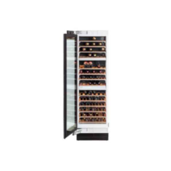 "KWT1613SF 24"" Wine Cooler, LEFT HINGED, Pre-Finished SS"