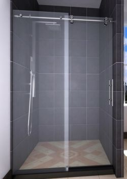 Frameless Slider Shower Door Centec Select Series