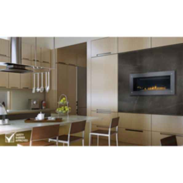 Direct Vent Fireplaces; Linear 45