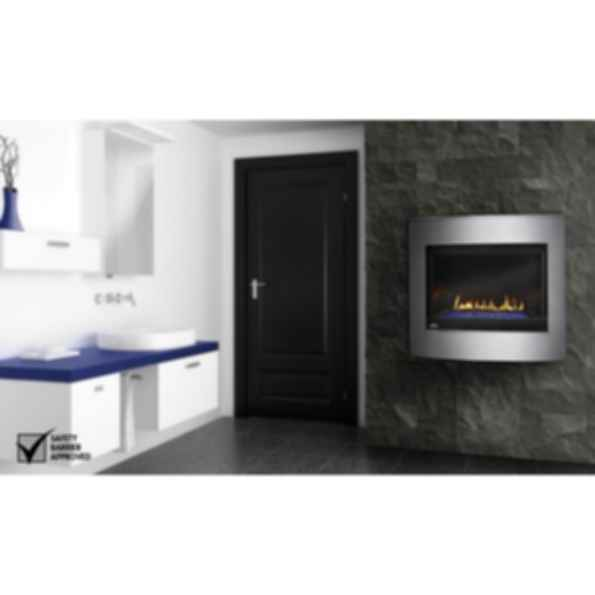 Direct Vent Fireplaces - Crystallo™