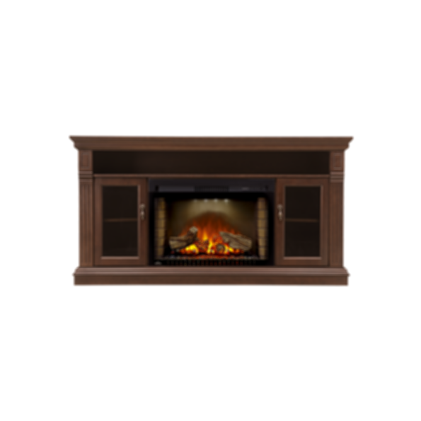 Electric Fireplace Mantel Package - the Canterbury