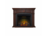 Electric Fireplace Mantel Package; The Harlow