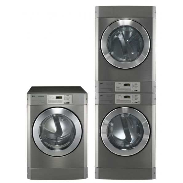 LG Commercial Washers for Card and Coin-Operated Laundries