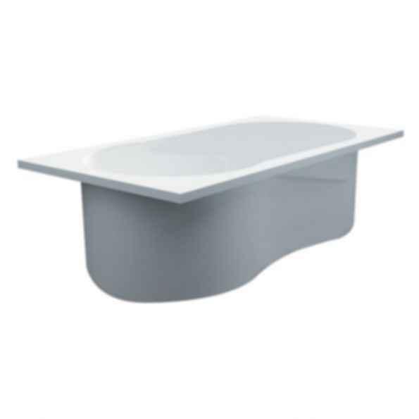 Freestanding/Drop-in/Undermount Bathtub in White