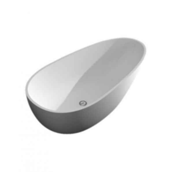 Freestanding Bathtub in White - Marisol Grande