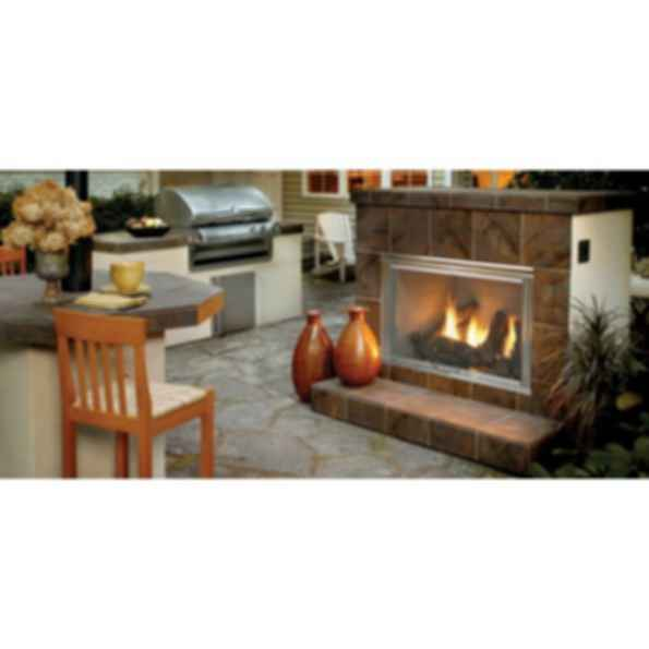 Outdoor Gas Fireplace - Dakota
