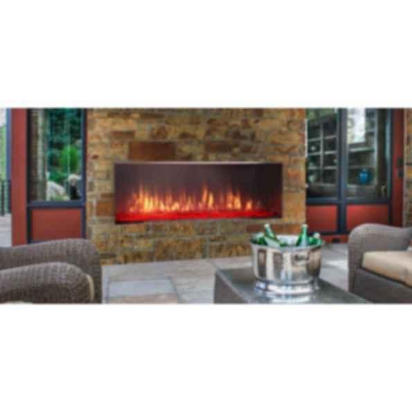 Outdoor Gas Fireplace - Lanai