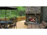 Outdoor Wood Fireplace - Montana
