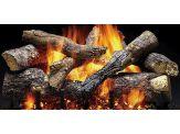 Gas Log Set - Fireside Grand Oak