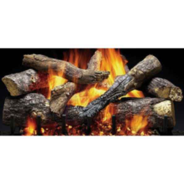 Gas Log Set - Fireside Grand Oak