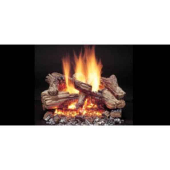 Vented Gas Log Set - Duzy 3