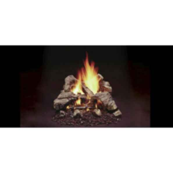 Vented Gas Log Set - Duzy 2