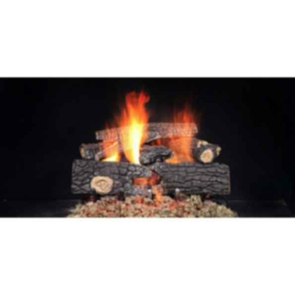 Gas Log Set - Outdoor Fireside Realwood