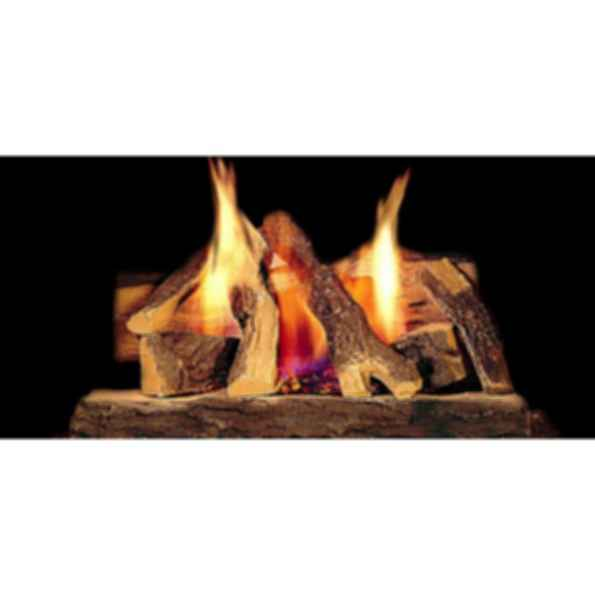 Gas Log Set - Campfire