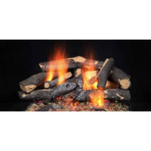 Gas Log Set - Fireside Supreme Oak
