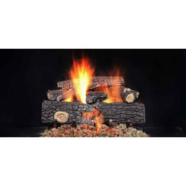 Gas Log Set - Fireside Realwood