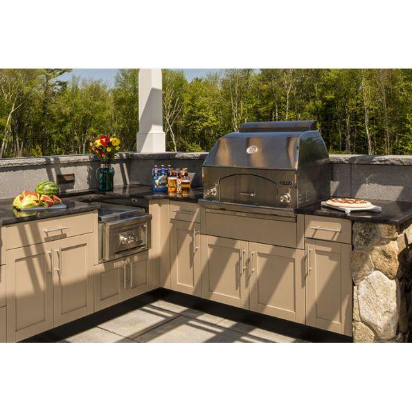 Danver Stainless Steel Cabinetry II Outdoor Pizza Ovens   Modlar.com