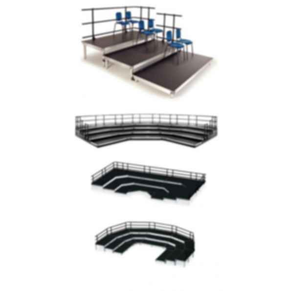 Seated Risers; StageTek™