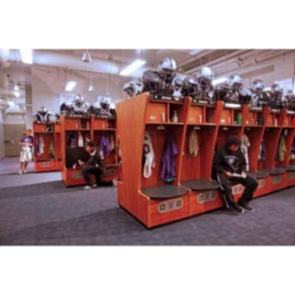 Customizable Wood Lockers