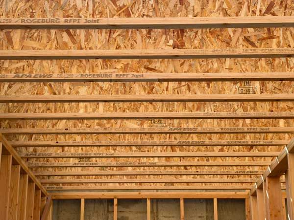 Rigidlam lvl for I joist vs floor truss
