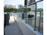 Glass Handrails Panel - System SPG2-2000
