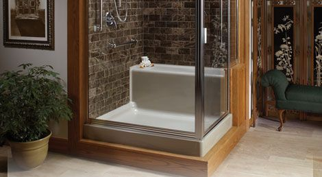 Clarion Bathware Showers | brohauns.com