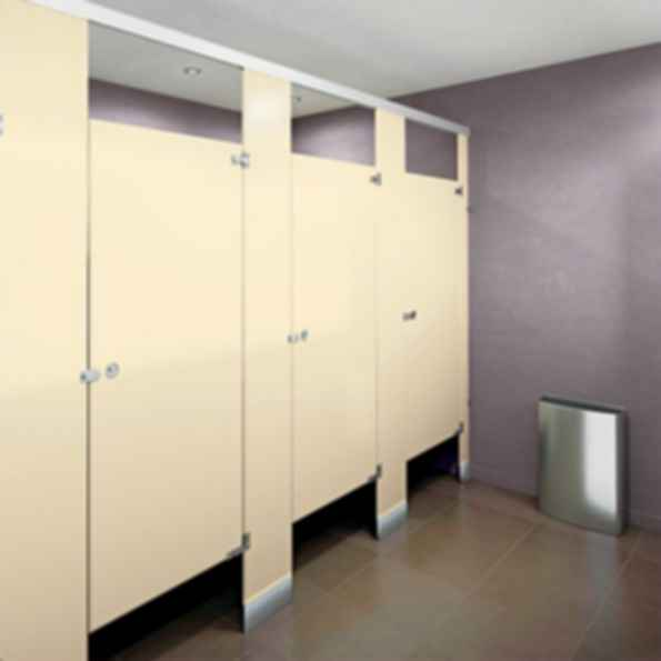 Powder-Coated Metal Partitions