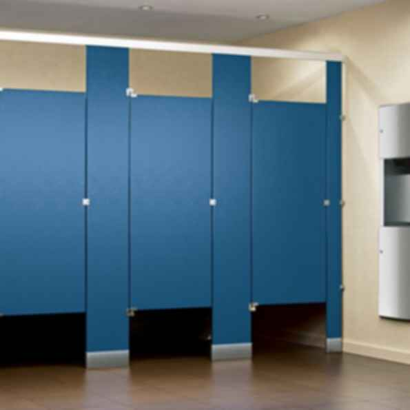 Solid Plastic Hdpe Polymer Toilet Partitions