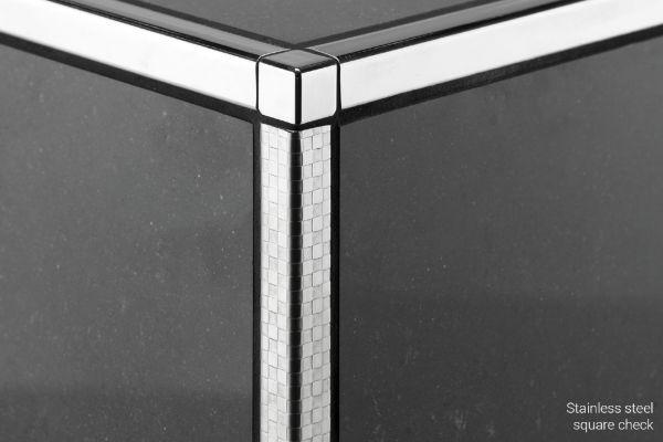 schluter quadec k profile. Black Bedroom Furniture Sets. Home Design Ideas
