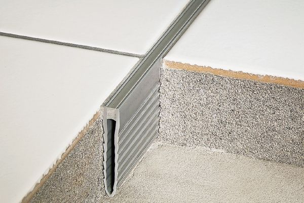 schluter dilex mop mortar bed joint profile. Black Bedroom Furniture Sets. Home Design Ideas