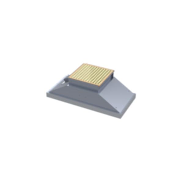 Motorized Ceiling Fan Filter Unit - CAP109BL