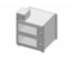 Desiccator Cabinets - CAP19S-SST-2DR-SGL