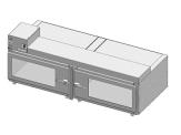 Desiccator Cabinets - CAP19S-SST-2DR-DBL