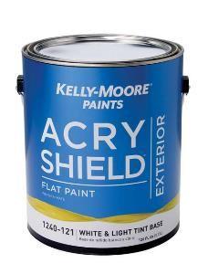 Acrylic Exterior Flat Paint 1240 Acryshield